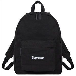 Supreme black box logo backpack